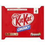 Kit Kat Chunky Milk Chocolate Multipack 4 X40g